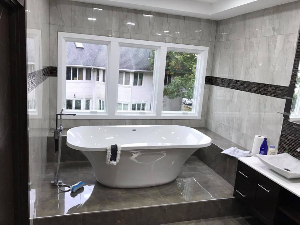 Bathroom With Steam Room Remodel