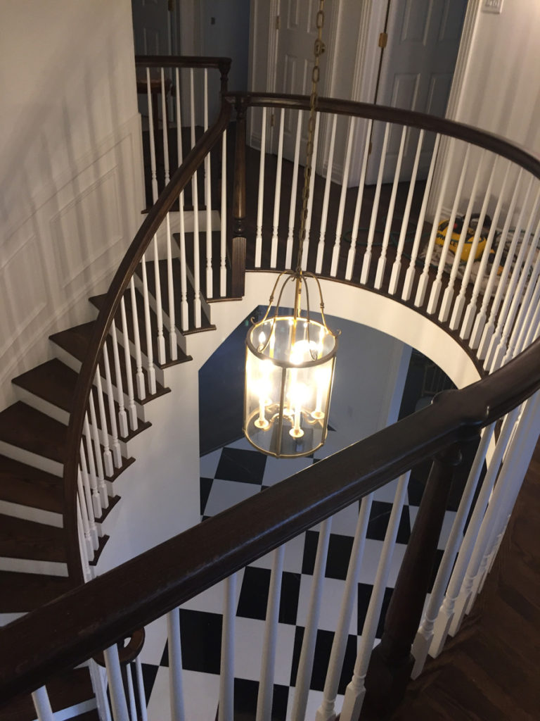 Staircase And Railings Remodel