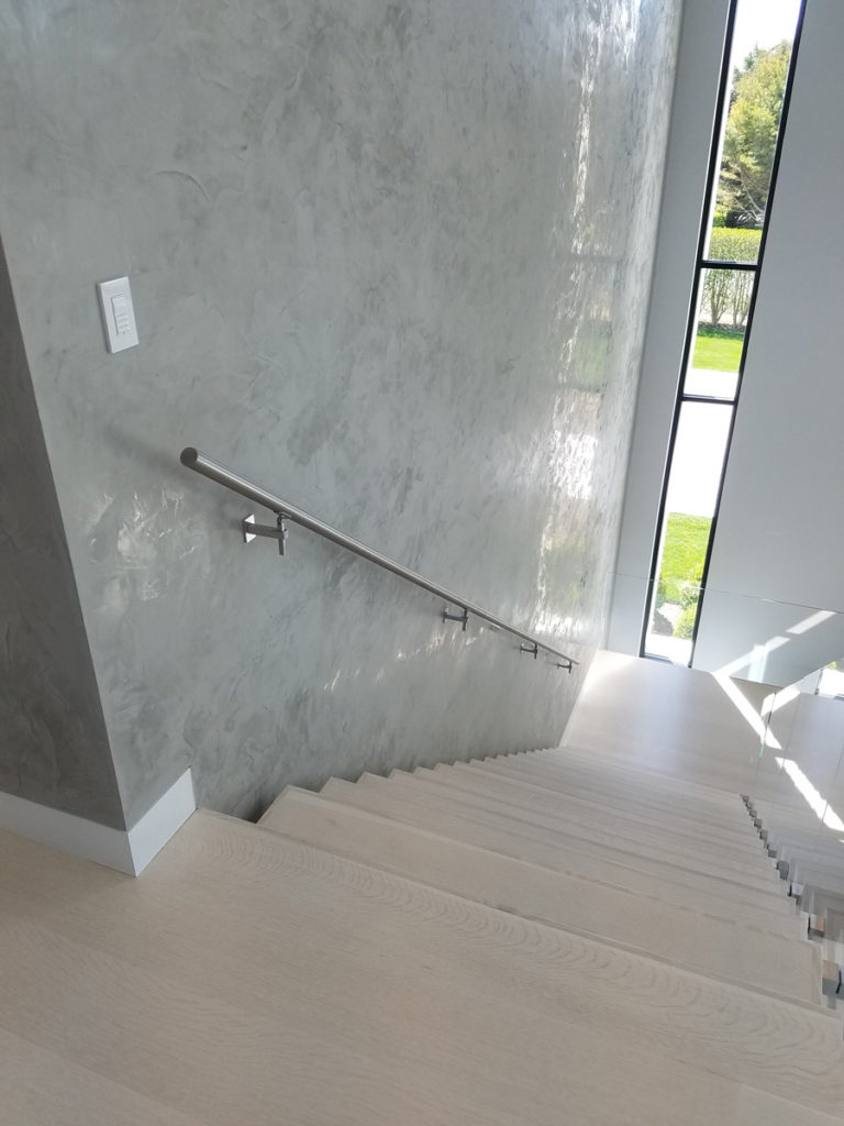 staircase and railings installation
