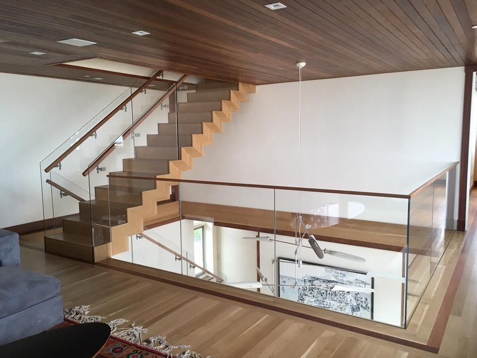 Glass, Railing, Woodwork Installation