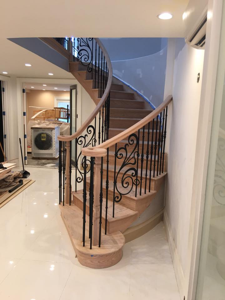 Stairs With Railings Remodel